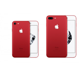 smartphone Apple iPhone 7 RED edition factice de demonstration