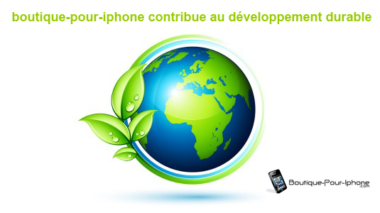 boutique pour iphone eco responsable