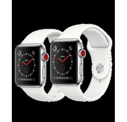 montre connect factice apple watch s ries 3 factice. Black Bedroom Furniture Sets. Home Design Ideas