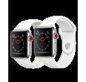 Montre connecté smartwatch Apple Watch séries 3 factice finition métal