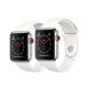 Montre connecté smartwatch Apple Watch séries 3 factice finition métal
