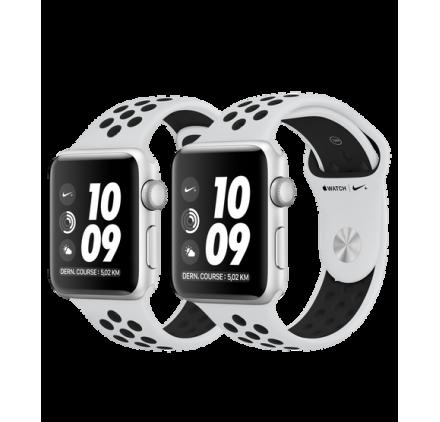 montre connect factice apple watch s ries 3 nike plus. Black Bedroom Furniture Sets. Home Design Ideas
