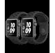 Montre connecté smartwatch Apple Watch séries 3 Nike + factice finition métal