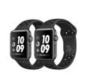 Montre connecté smartwatch Apple Watch séries 3 Nike + factice finition métal