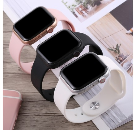 Montre connecté Apple Watch serie 4 factice sans composant écran noir