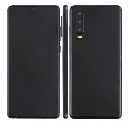 smartphone Huawei P30 2019 factice écran noir type éteint