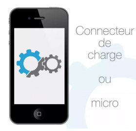 remplacement connecteur de charge Apple iPhone 4/4S